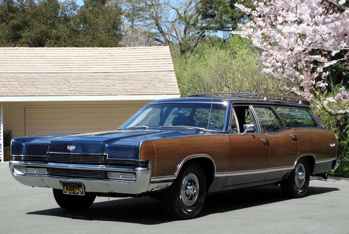 1969 Ford Mercury Marquis Colony Park Wagon For Sale Front Left