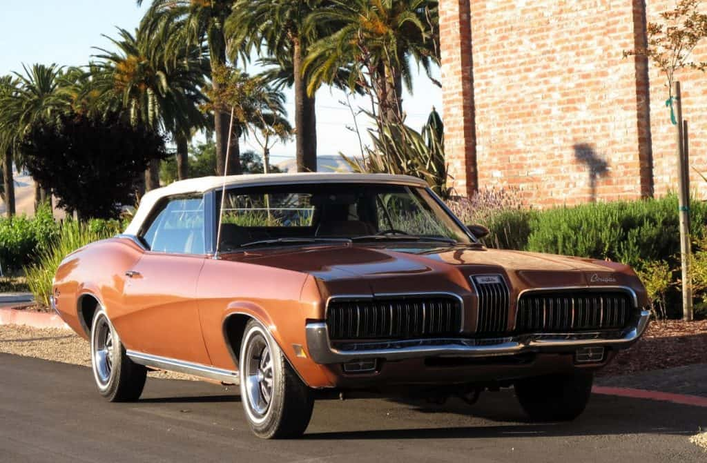 1970 Cougar xr-7 For Sale Front Right