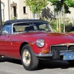 Red 1974 MG MGB For Sale