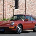 Red 1976 Porsche 912e For Sale Front Left