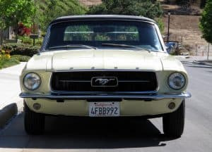 1967 Mustang Convertible For Sale Front