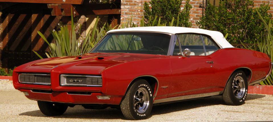 1968 Pontiac GTO For Sale Front Left