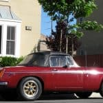 Red 1974 MG MGB For Sale Right Side