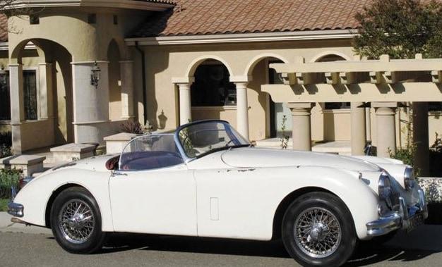 1958 Jaguar Xk150s For Sale Side Right