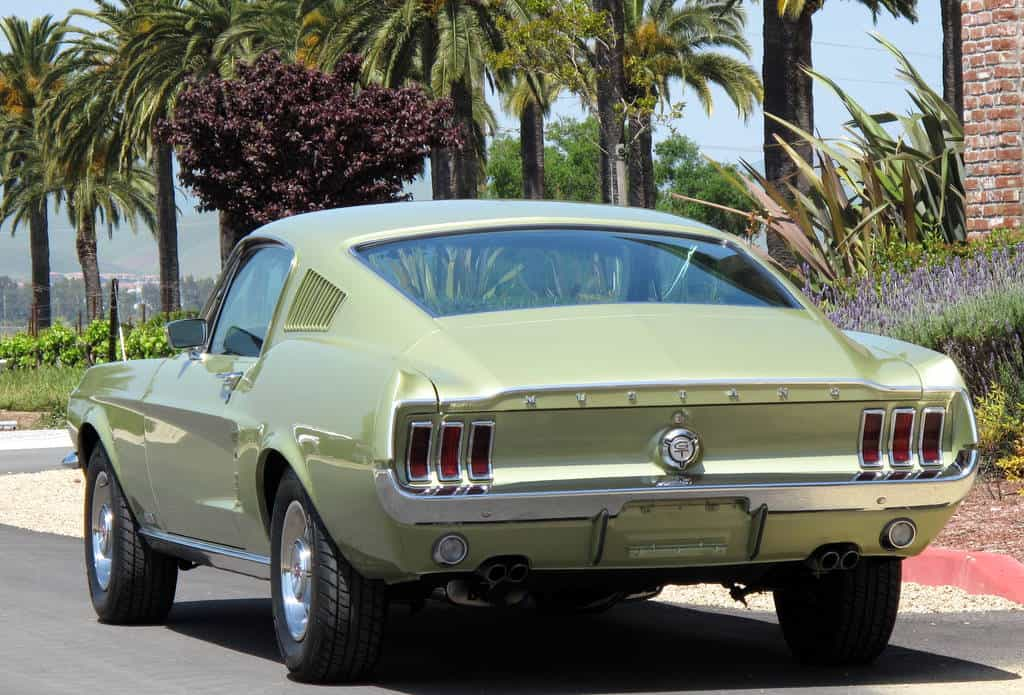 1967 Ford GTA For Sale back