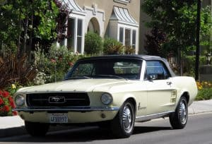 1967 Mustang Convertible For Sale Front Left