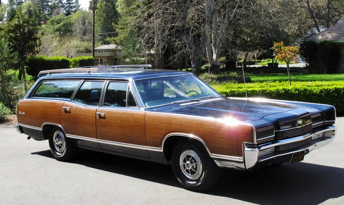 1969 Ford Mercury Marquis Colony Park Wagon For Sale Front Right