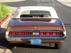 1970 Cougar xr-7 For Sale Back