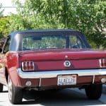 1970 Mustang Convertible For Sale back