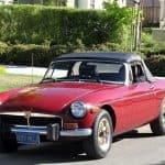 Red 1974 MG MGB For Sale Front Left