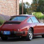 Red 1976 Porsche 912e For Sale Back Right