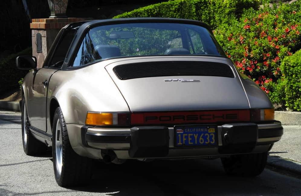 1982 Porsche 911 For Sale Back