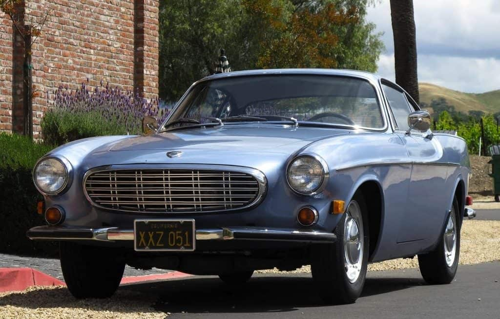1957 Volvo p1800 For Sale Front Left