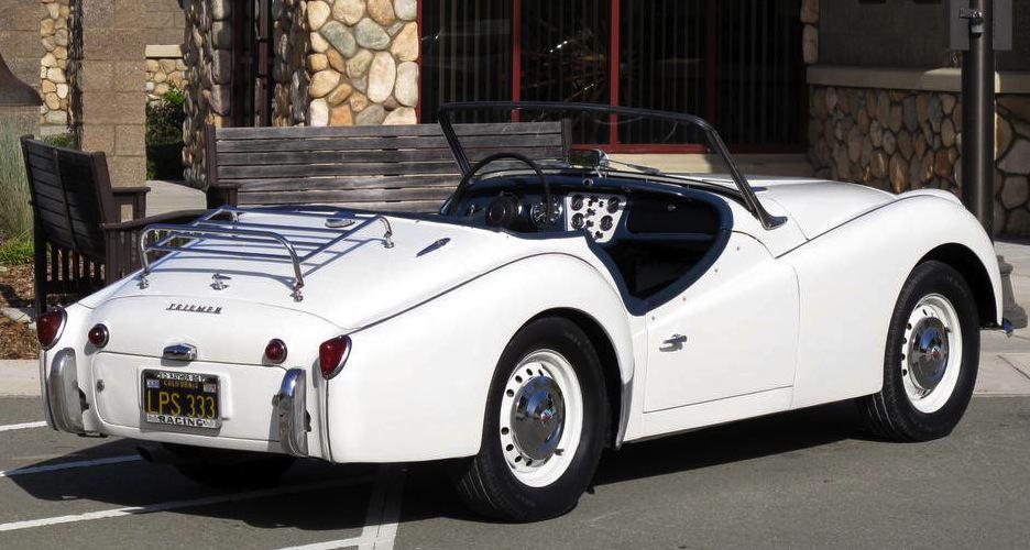 1960 Triumph TR3 For Sale Back Right