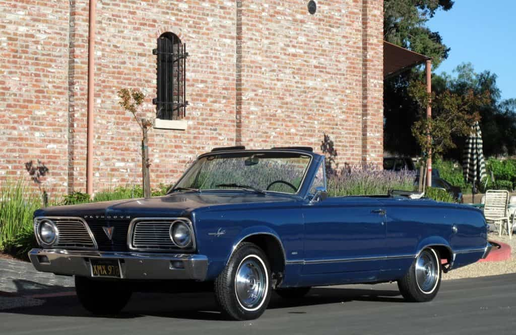 1966 Valiant Convertible For Sale Front Left
