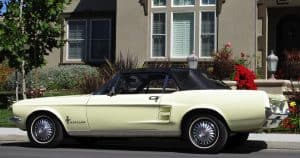 1967 Mustang Convertible For Sale Left Side
