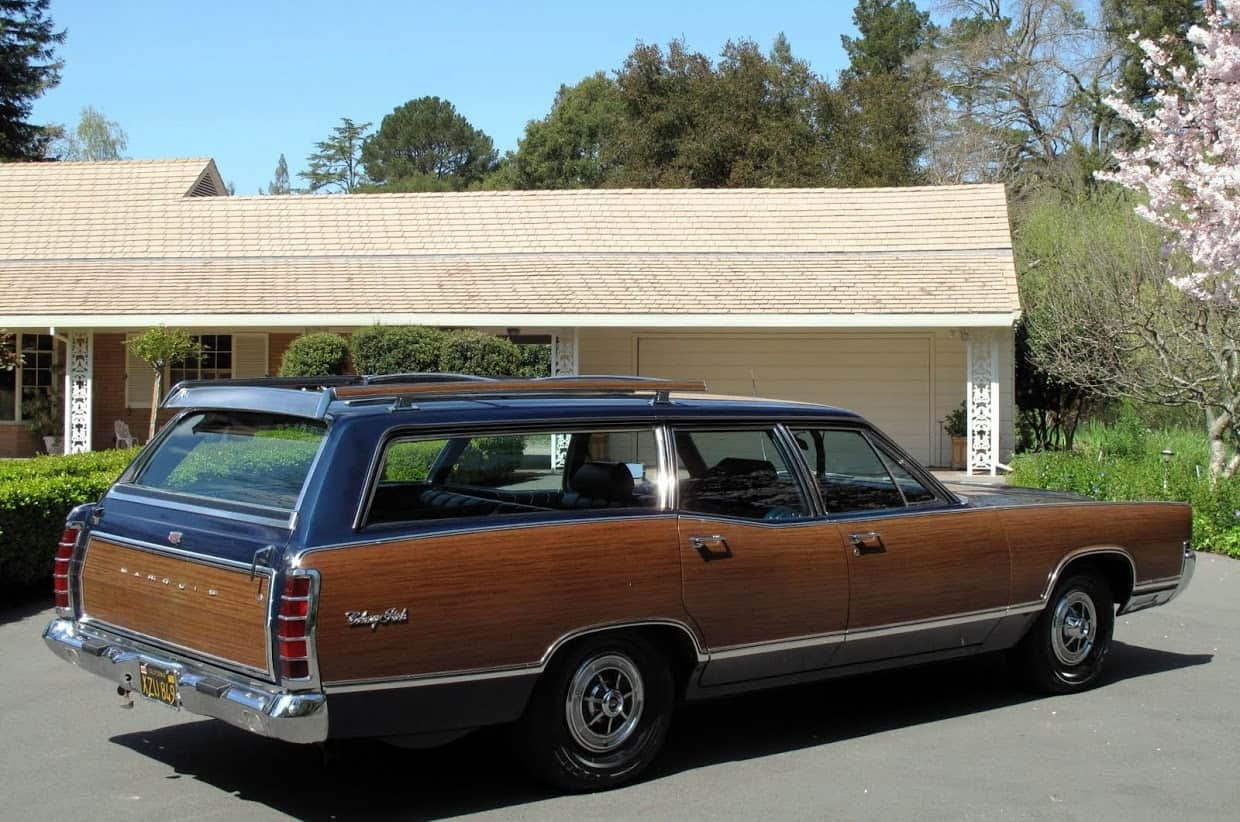 1969 Ford Mercury Marquis Colony Park Wagon For Sale Back Right
