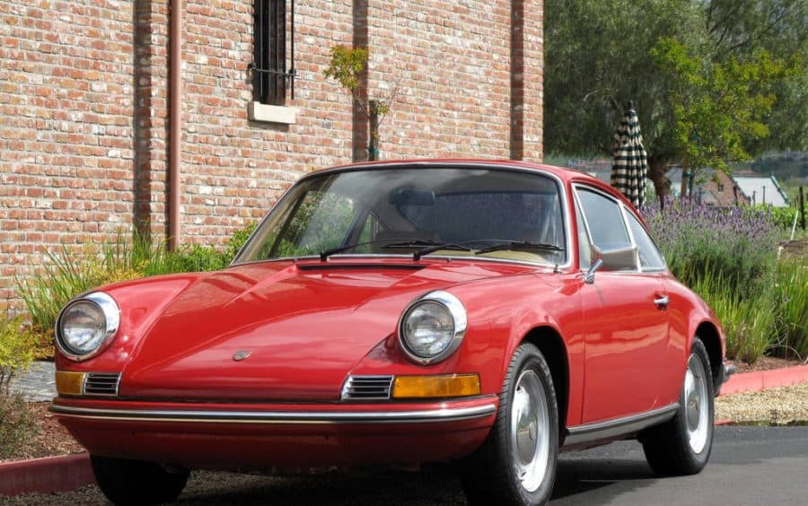 1969 Porsche 911T For Sale Front