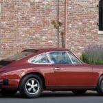 Red 1976 Porsche 912e For Sale Right Side