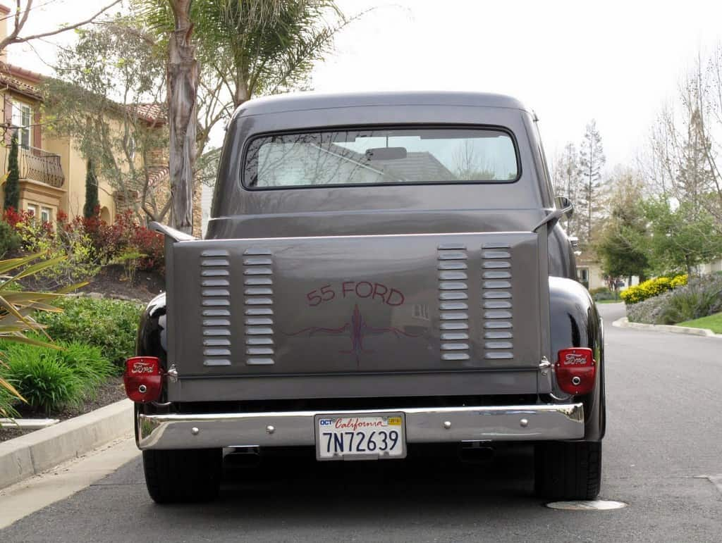 1955 Ford Truck For Sale Back