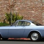 1957 Volvo p1800 For Sale Left Side