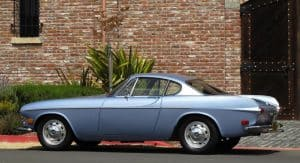 1957 Volvo p1800 For Sale Left Side