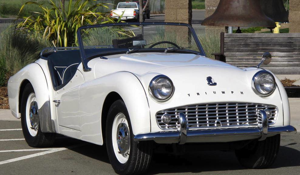 1960 Triumph TR3 For Sale Front On