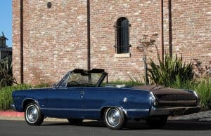 1966 Valiant Convertible For Sale Side Left