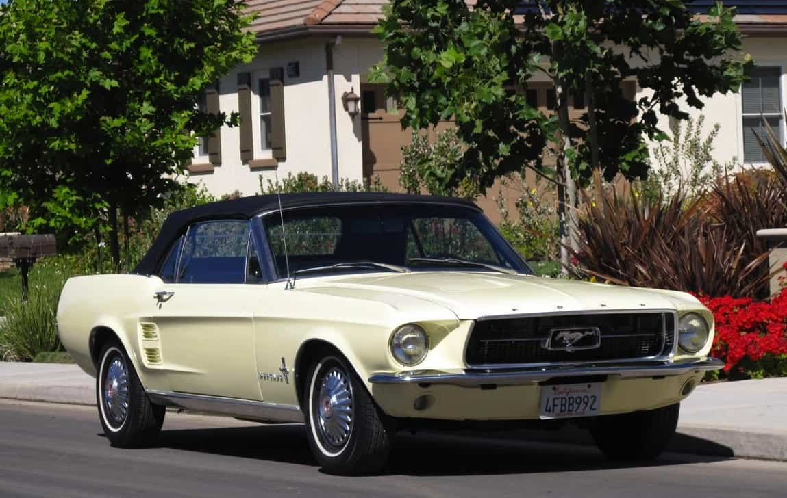 1967 Ford Mustang Convertible For Sale Dusty Cars