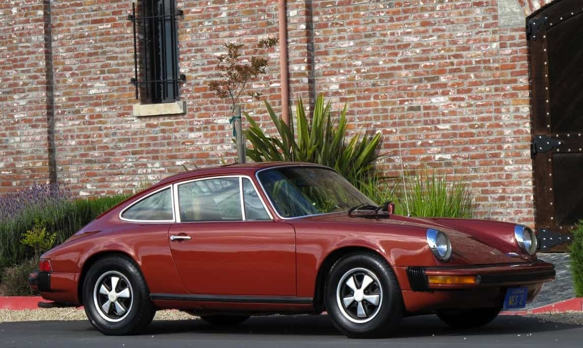 Red 1976 Porsche 912e For Sale Right