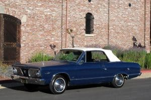1966 Valiant Convertible For Sale Front Left Side