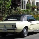 1967 Mustang Convertible For Sale Back Right
