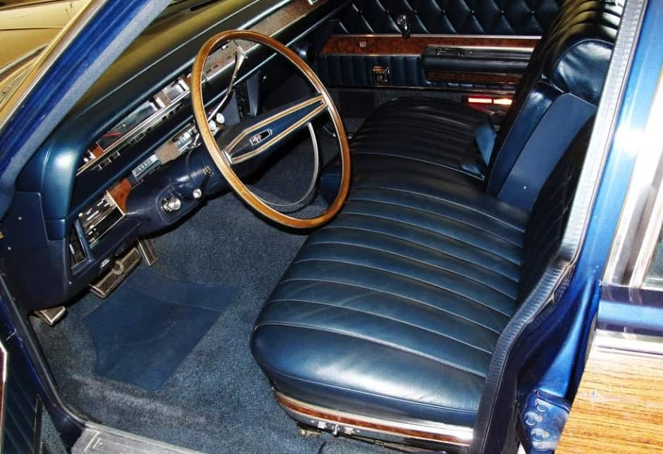 1969 Ford Mercury Marquis Colony Park Wagon For Sale Steering Wheel