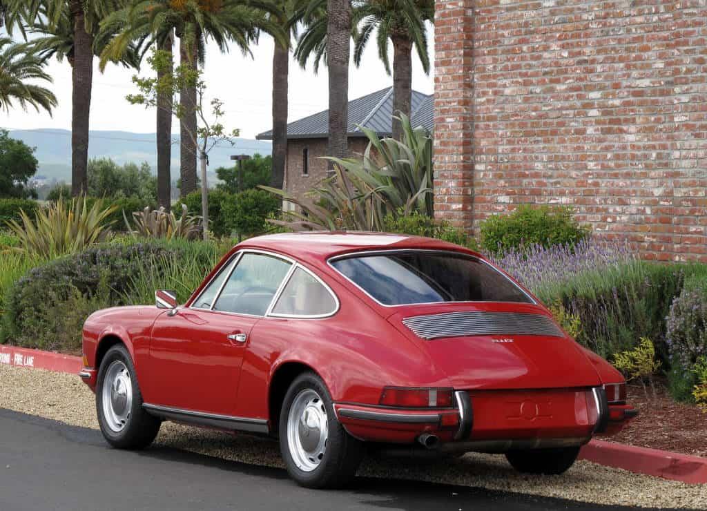 1969 Porsche 911T For Sale Back left