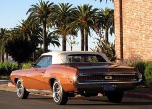 1970 Cougar xr-7 For Sale Back left