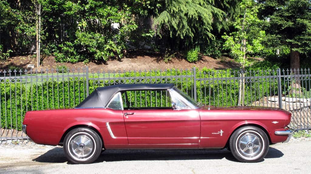 1970 Mustang Convertible For Sale Side Right