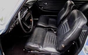 1957 Volvo p1800 For Sale Steering Wheel