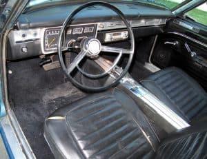 1966 Valiant Convertible For Sale Interior