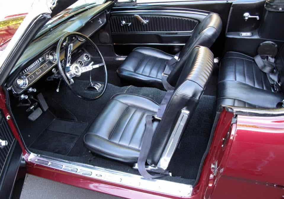 1970 Mustang Convertible For Sale Interior
