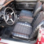 Red 1974 MG MGB For Sale Interior