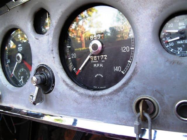 1958 Jaguar Xk150s For Sale Speedometer