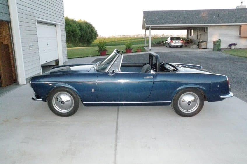 1960 Fiat 1500 Cabriolet