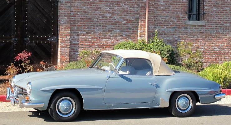 1963 Mercedes 190sl