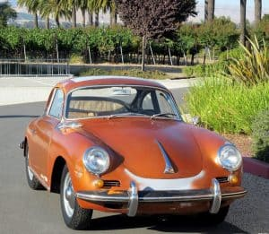 1963 Porsche 356 Sunroof
