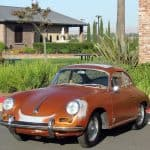 1963 Porsche 356 Sunroof
