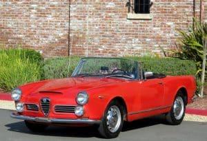 1964 Alfa Romeo 2600 Spider (1)