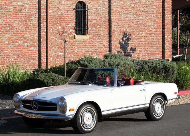 1965 Mercedes 230sl Roadster