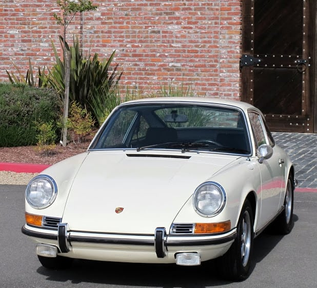 White 1969 Porsche 911S For Sale