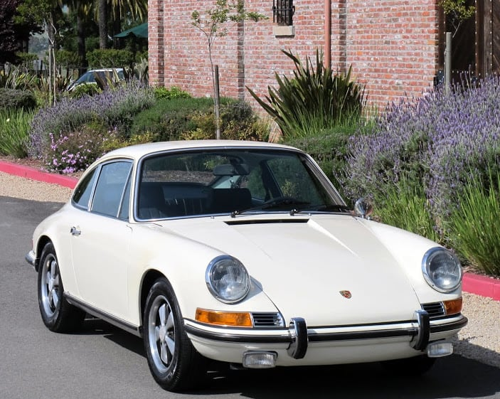 White 1969 Porsche 911s For Sale Contact Dusty Cars