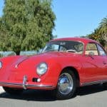 1959 Porsche 356A 1600 Reutter Coupe